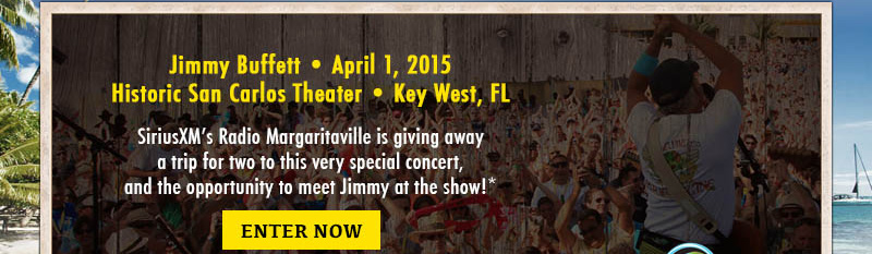 Enter for a chance to win a trip to see Jimmy Buffett in Concert
