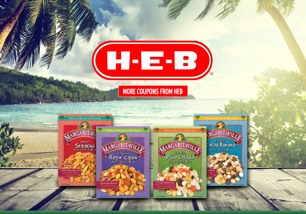 Margaritaville Foods New at HEB
