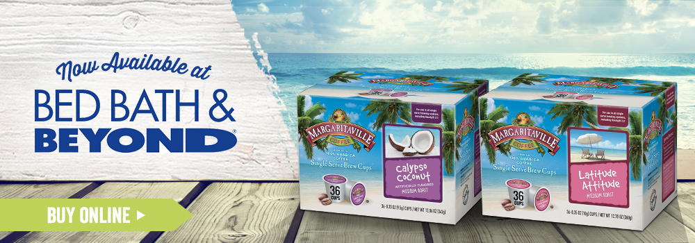 Margaritaville Foods Available at Bed, Bath & Beyond