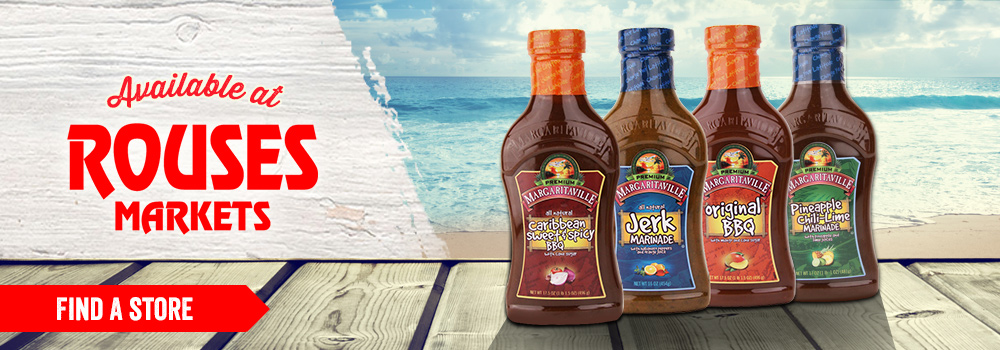 Margaritaville Foods available at Rouses Markets