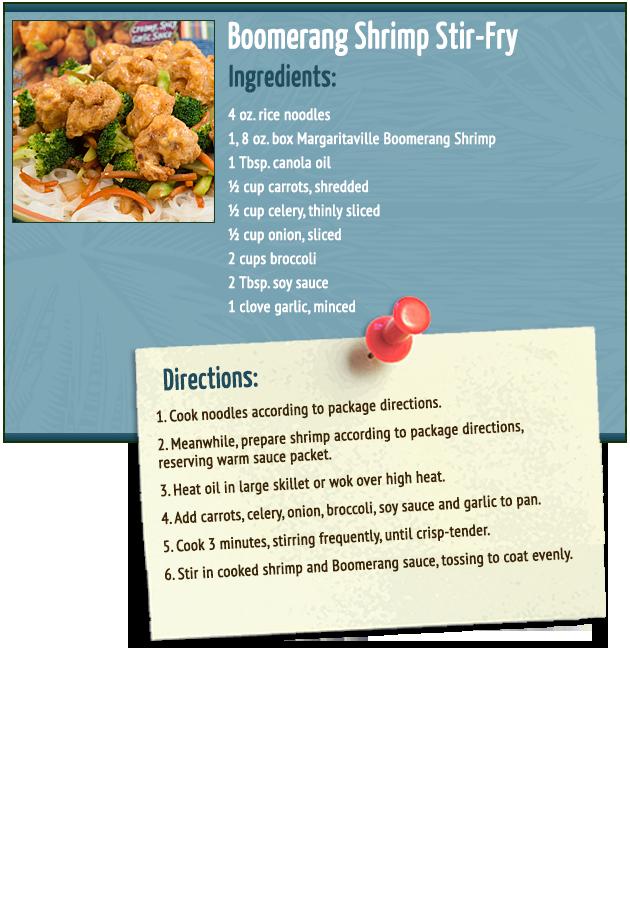 Boomerang Shrimp Stir-Fry