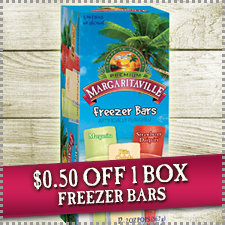 margaritaville freezer bars