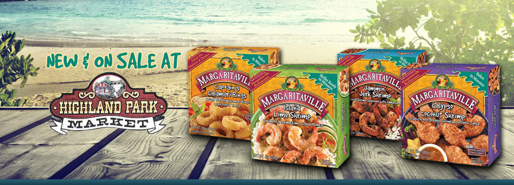 Margaritaville Foods available at Highland Park