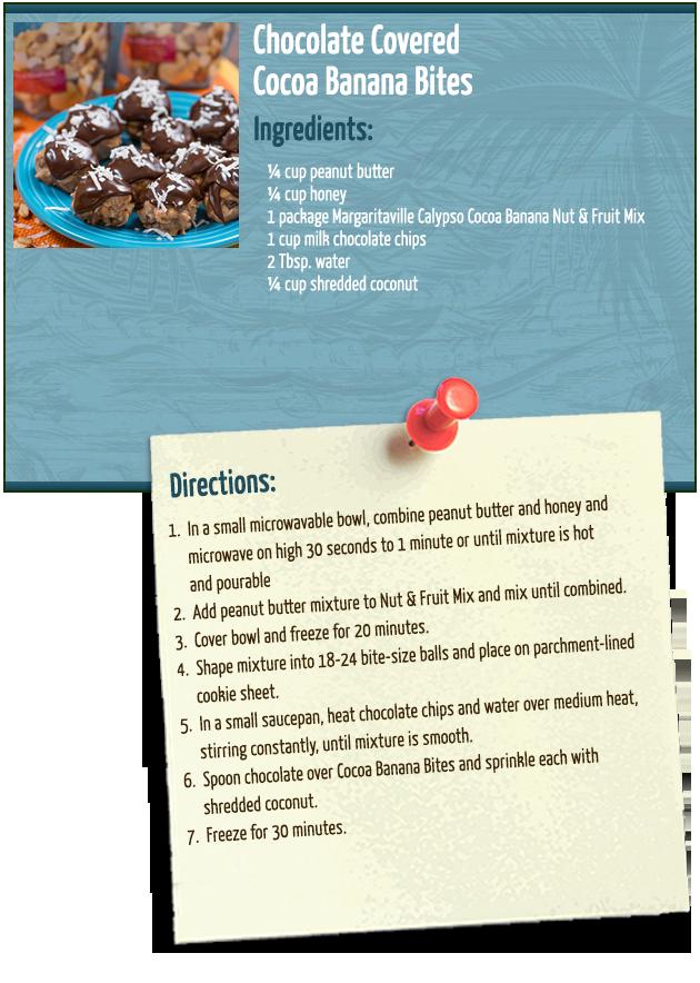Chocolate Covered Cocoa Banana Bites