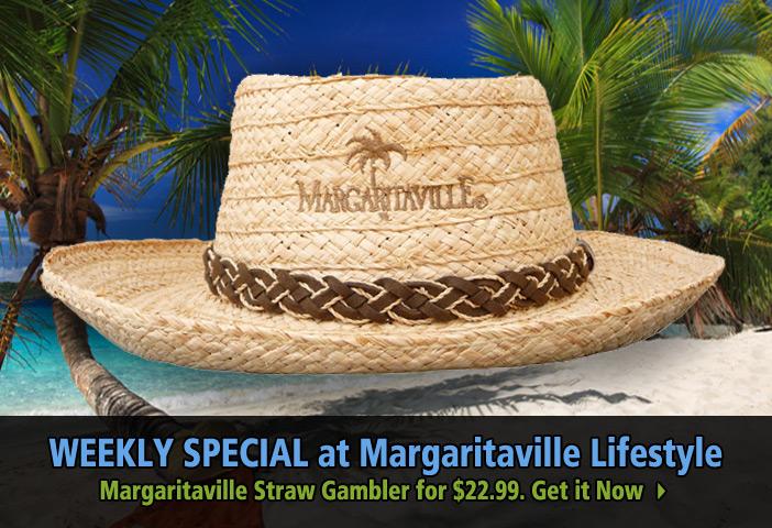 Margaritaville Straw Gambler for $22.99