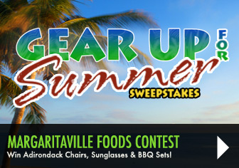 Enter to win prizes from Margaritaville Foods!