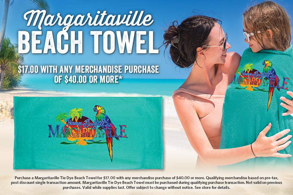 Margaritaville Beach Towel