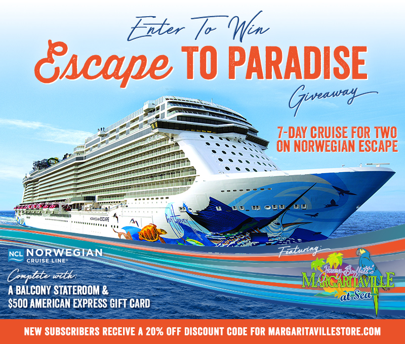 Enter To Win - Escape to Paradise Giveaway - Enter to Win 7-Day Cruise For Two On Norwegian Escape Complete With A Balcony Stateroom & $500 American Express Gift Card