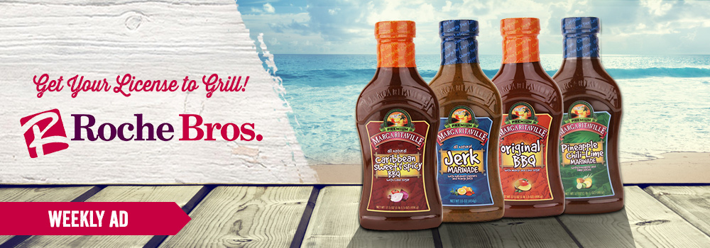 Margaritaville Foods available at Roche Bros.