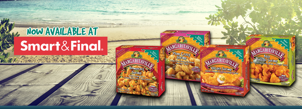 Margaritaville Foods available at Smart & Final