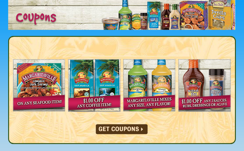 Margaritaville Foods Coupons