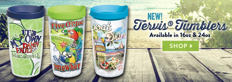 New! Tervis® Tumblers Available in 16oz and 24oz - Shop Now
